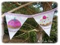 Candy Bar - Fanions et autres accessoires couleur rose - Sept 2012