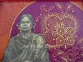 """Boîte à bijoux """"L'Inde & ses couleurs"""" (19.5 x 19.5 x 5,5 cm) - Création février 2010"""