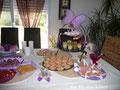"""Buffet """"Joyeux anniversaire"""" (à l'intérieur) - Septembre 2010"""