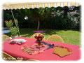 """Table de jeux pour anniversaire """"F comme Fille !"""" - Septembre 2011"""