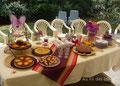 """Buffet """"Joyeux anniversaire"""" (à l'extérieur) - Septembre 2010"""