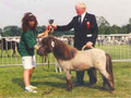 """""""Titus"""" 1994 wurde er auf der ersten Europäischen Shetlandpony Show in Ermelo (Niederlande) Europachampion"""