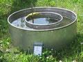 Ermittlung der Wasserdurchlässigkeit einer Rasentragschicht