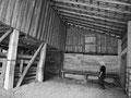 Intérieur d'une grange au Mississippi