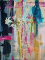 Nerines, acryl en olieverf op schildersdoek, 30x40cm, prijs 300,00e