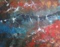Stedelijk 2017, acrylverf  en inkt op canvas, 100x80cm, prijs 920,00e (incl. lijst)