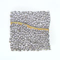 Mauer  Siebdruck /Aquarell 30 x 30 cm 2017