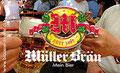 Müller Bräu. Frisch - urig - herb. Unser Müller Bräu