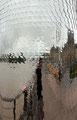 reflets de la ville au travers de Psyché / Laurent Valera