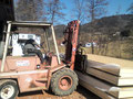 Lagerung der Bodenelemente