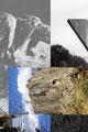 Un pavé comme paysage 2,     2014  30X20 cm collage numérique
