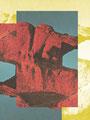 Un pavé comme paysage 1,      2014  30X20 cm collage numérique