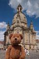 Dresden mit der Frauenkirche. Det hömse wieda döll öffgebaut!