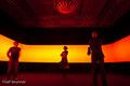 Klanginstallation -DSLE3- von Edwin van der Heide im Museum Biedermann