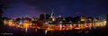 Umer Lichterserenade auf der Donau