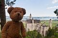 Und nochmal mein Zweitschloss in Neuschwanstein. Ihr könnt mich Bruno der Bärige nennen!