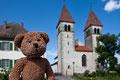 Das ist die Insel Reichenau im Bodensee. Da wächst ganz viel Gemüse. Und das Kloster ist wie ich selbst Weltkulturerbär.