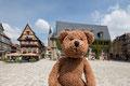 Noch so ein verwunschenes, verwinkeltes Kopfsteinpflaster-Städtchen mit viel altertümlicher Bausubstanz: Quedlinburg. Auch Weltkulturerbestätte. Und zwar die ganze Altstadt!