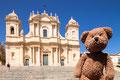 Ein Foto aus Noto ganz im Süden von Sizilien mit viel Barock.