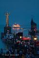 Konstanzer Hafen während des Senachtsfest