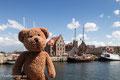 Wieder mal in Wismar, das Weltkulturerbe gucken. Steht noch alles!