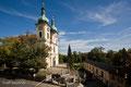 Stadtkirche St. Johann mit Orangerie