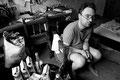 ergebnis einer schlaflosen nacht: vierl liter wein und eine flasche schnaps