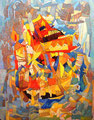 Moderna Babele | olio su tela | 60x45 cm