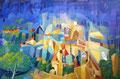 Città murata | olio su tela | 30x45 cm