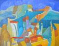 Case amiche | olio su tela | 19x24 cm