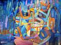 Parole | olio su tela | 45x60 cm