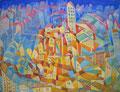 Il megalomane 2 | olio su tela | 45x60 cm