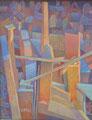 Luce dalla fessura | olio su tela | 25x35 cm