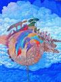 Il posto delle favole | olio su tela | 60x45 cm