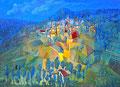 Il riflesso delle messi | olio su tela | 60x45 cm
