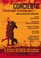 Chorprojekt Ennetbürgen, Flyer und Plakat