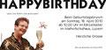 Geburtstagseinladung 60 Jahr Susi, hinten