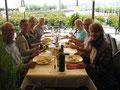 Silberdischtleausflug 2017 Mittagessen Steinbock in Rapperswil
