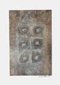 ohne Titel, Mischtechnik auf Papier, 2007, 45x32 cm [ID 20070045]