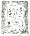 ohne Titel, Monotypie auf Papier, 2003