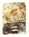 ohne Titel, Monotypie auf Papier, 2003 - VERKAUFT