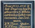 Neuenkirchen, Gedenktafel