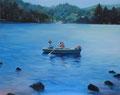 「どこにいても、なにをしていても」 72.5×91cm(F30) Oil on canvas