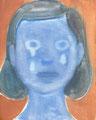 メカラウロコ oil on canvas
