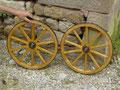 Petites roues de chariot à bras