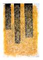 © Schidlo; Schwebende Formen; Tempera auf grundierter Pappe, 2012