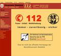 aktuelles Design der Homepage mit neuen Inhalten