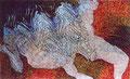 Ikarus I/ Tempera auf Leinwand/ 160 x 100 cm / 2000