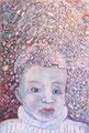 Winterkind / Tempera auf Leinwand / 95 x 140 cm / 2002