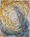 Sonnenstern/ Tempera auf Leinwand / 40 x 55 cm/2002